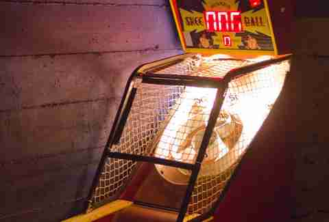 Skee-ball at Rickshaw Stop