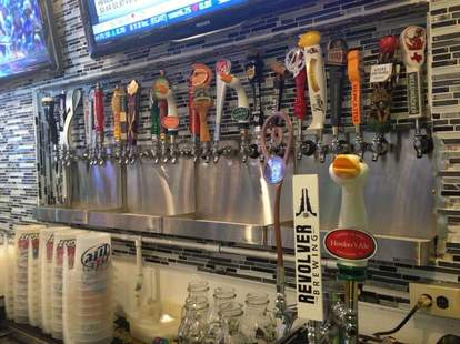 The taps at Addison Point