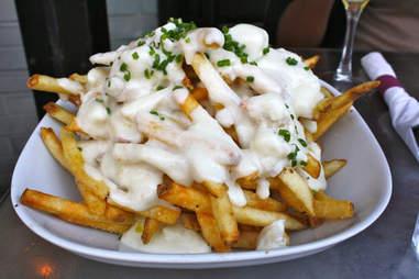 lump crab fries cheese varga bar philadelphia