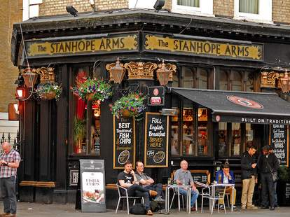 Stanhope Arms Exterior -- London