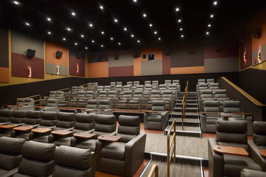 Interior of Chestnut Hill Superlux Theater
