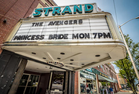 Exterior of The Strand Theater