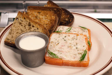 Lox and whitefish terrine at Dillman's in River North