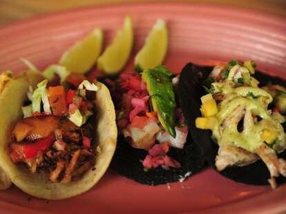 agave taco bar tacos -- denver