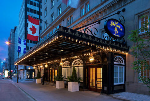 Exterior of the Ritz-Carlton Montreal