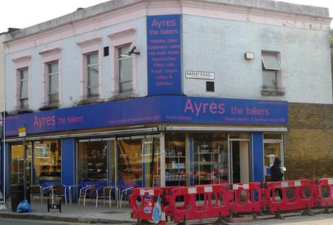 Ayres the Bakers exterior -- London