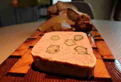 Wild boar terrine at Box Park