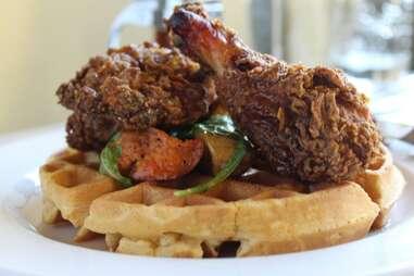Skillet Chicken & Waffles
