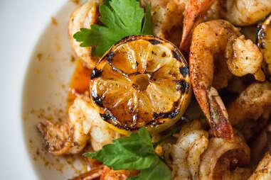 Skillet BBQ Shrimp