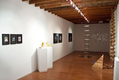 Interior of gallery at Narwhal Art Projects