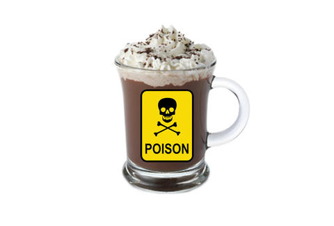 Poisoned hot cocoa