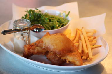 Fish n' Chips at The Cavalier