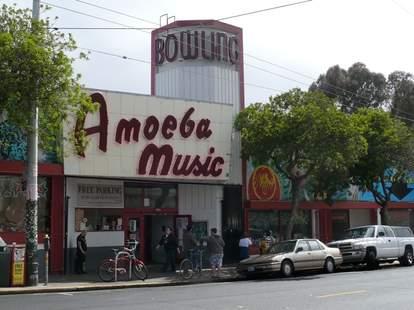 Amoeba Music exterior