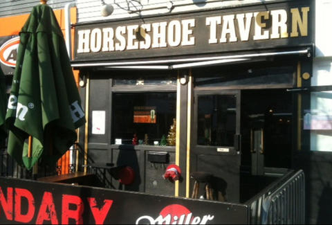 Exterior of Horseshoe Tavern