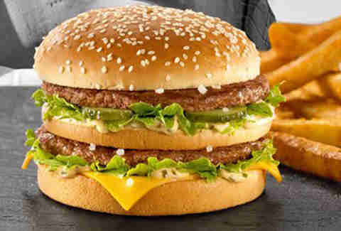 Bigger Big Mac Germany