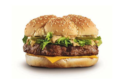 McDonald's Australia Angus Big Mac