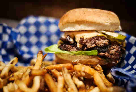 Stockyards burger Toronto