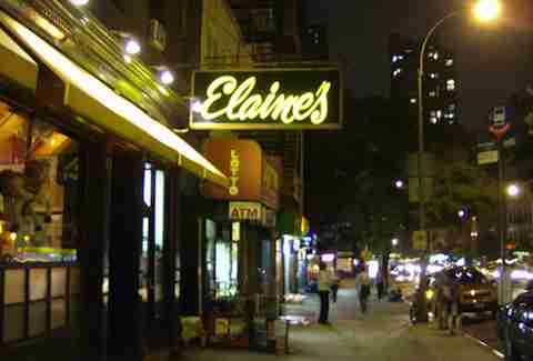 Elaine's to become Writing Room - NYC