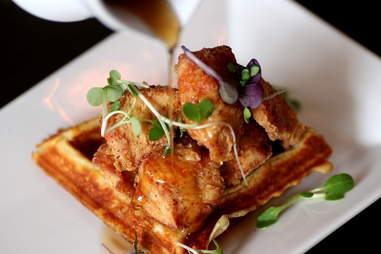 Chicken and Waffle at Sparrow Bar and Kitchen