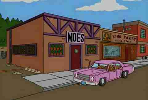 Moe's Tavern, The Simpsons