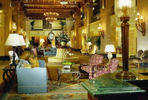 Interior of Fairmont Royal York Hotel in Toronto