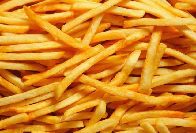 The great French fry power rank