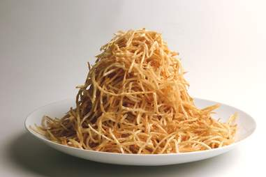 Shoestring fries.