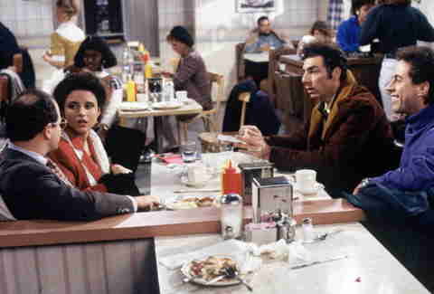 Monks Coffee Shop, Seinfeld