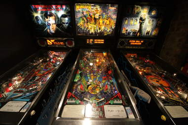 Pinball at Upright Brew House