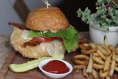 Fried Chicken Sandwich - Upright Brew House