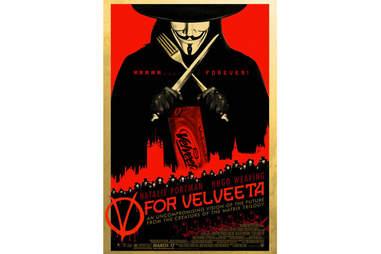 V for Velveeta
