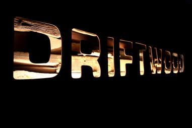 Sign at Driftwood