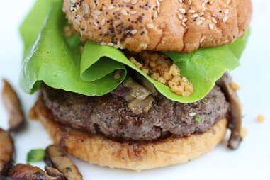 Godzilla burger at TAG Burger Bar