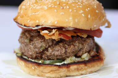 EDGE Kobe Burger at EDGE Steakhouse