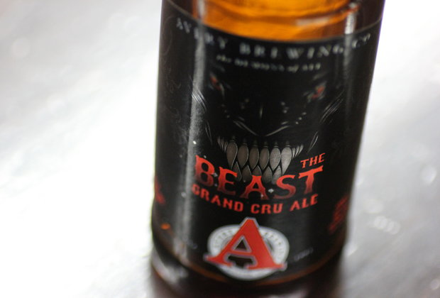 Beasting an epic 18%-ABV beer