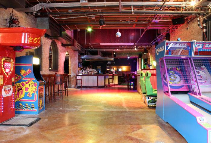 Recess Arcade Bar Drink Thrillist Austin