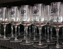 """Sip"" wine glasses"