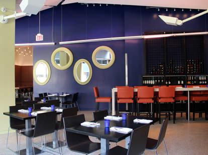 Dining area inside Sip