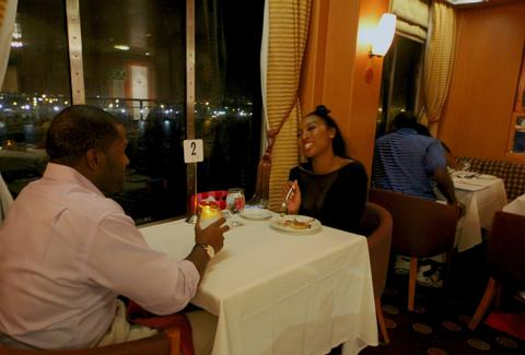 Ponce de Leon restaurant on Resorts World Bimini Superfast Night Cruise