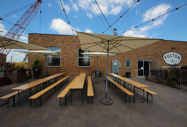 Fulton Brewery's Taproom Patio