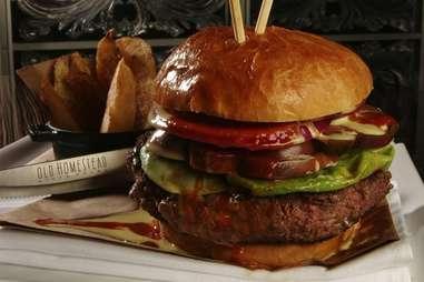 The Tri-Burger - homestead steakhouse - FL