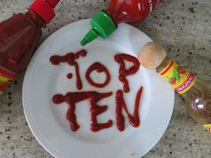 best hot sauces top ten