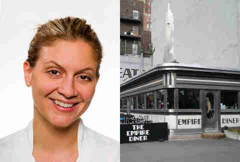 Empire Diner and Amanda Freitag