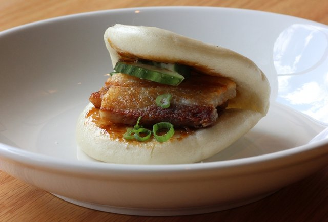 Ramen and pork buns in LoHi