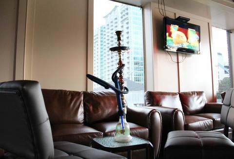 Hookah at Sahara Hookah Lounge in Atlanta