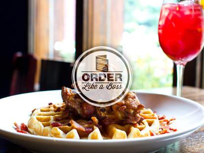 The Albert - Bourbon bacon waffles and wings - Atlanta