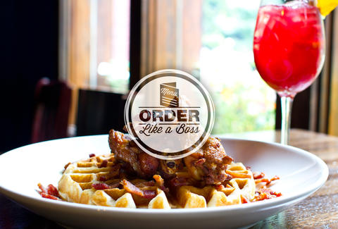 The Albert - Bourbon bacon waffles and wings - Atlanta