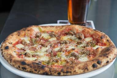 Masonry Sausage Pizza