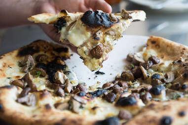 Masonry Mushroom Pizza