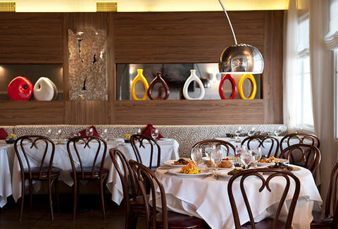 Osteria Drago-Interior-Los Angeles